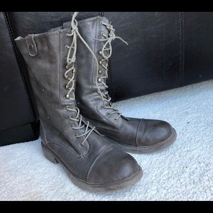 Shoes - Leather Military Boots